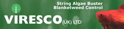 Viresco UK - String Algae Buster - Blanketweed Control